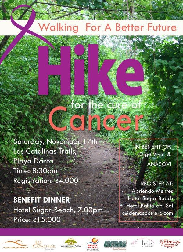 Hike promotional flyer
