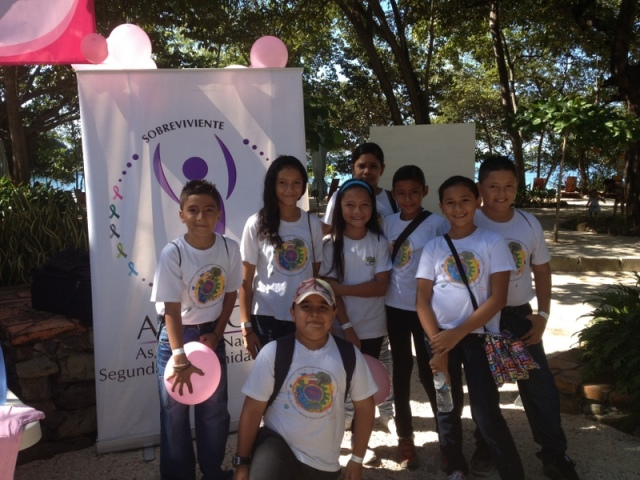 AM kids at Hike for the Cure of Cancer