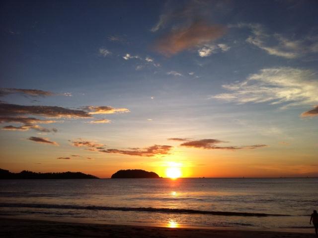 Potrero sunset