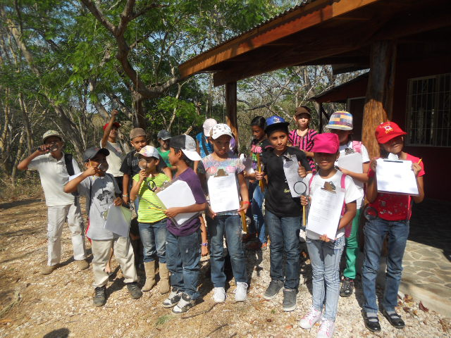 AM students ready for their day out in Reserva Conchal